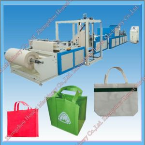 Easy Operation Full Automatic Non Woven Fabric Bag Making Machine Price pictures & photos
