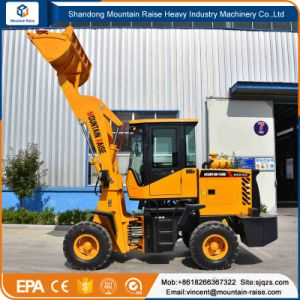Ce Approved 0.6cbm Bucket 1.2ton Wheel Mini Loader pictures & photos