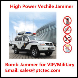 Powerful High Power Portable Jammer Bomb Jammer Vechile Jammer for All Frequencies pictures & photos