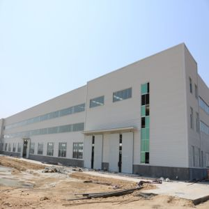 Light Steel Structure Warehouse with EPS Sandwich Panel pictures & photos
