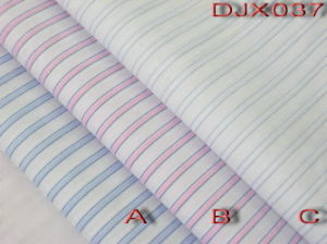 Fancy Stripes Yarn Dyed Fabric Shirting Djx037 pictures & photos