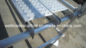 Ringlock Scaffolding Plank Galvanized Steel Board pictures & photos