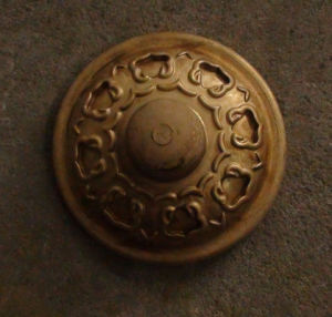 Hot Forged Brass Forgings / Brass Decoration Parts with Patterns pictures & photos