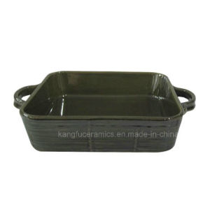 Ceramic Color Glazed Bakeware