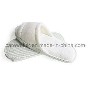 OEM Open Toe Disposable Hotel Slipper pictures & photos