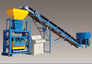 Qtj40-1 Easy Concrete Block Production Line Heritage Type Block Machine with Hopper pictures & photos