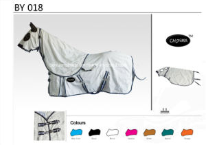 Promotional Cotton Summer Horse Rug with Detachable Neck Cover Wholesale pictures & photos