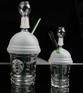Small/Medium/Large Starbucks Dabuccino Frosted Cup Glass Water Pipe pictures & photos