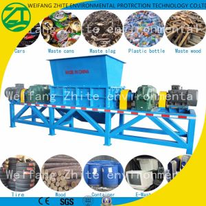 Shredder for Rubber Powder Waste/Car Tire Rubber/Plastic/Rubber/Tire/Foam/Kitchen Garbage/Wood/Solid Waste pictures & photos
