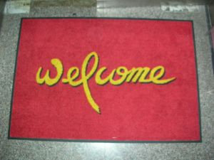 Inkjet Printed Welcome Mats for Party pictures & photos