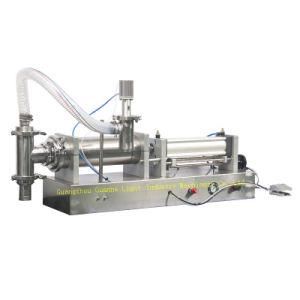 Semi-Auto Liquid Detergent Filling Machine with Piston-Type Filling pictures & photos