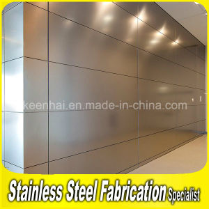 Indoor Stainless Steel Metal Wall Cladding pictures & photos