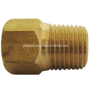 "Brass Male Connector for 3/16"" Brake Line pictures & photos"