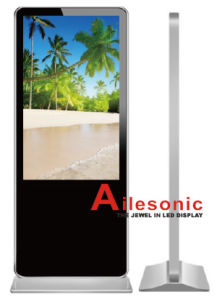 Factory From 10.1 Inch to 84 Inch Floor Standing Advertising LED Display Digital Signage pictures & photos
