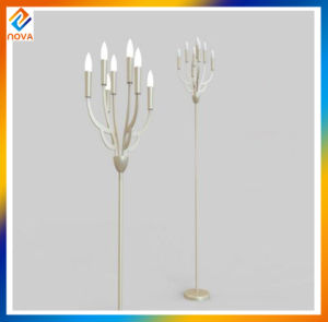 Foreign Design Electroplating Metal Decorative Floor Lamp pictures & photos