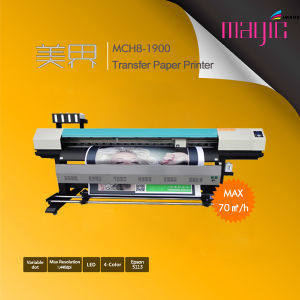 1.7m Large Format Eco Solvent Digital Inkjet Printer with Epson Dx10 for Banner pictures & photos