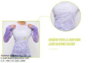 Good Quality Light PE Plastic Disposable Apron pictures & photos
