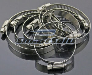 100% Tested High Quality Stainless Steel Hose Clamp pictures & photos