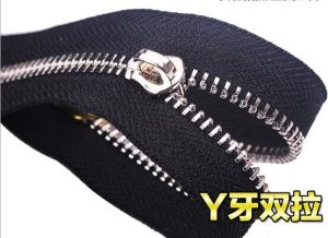 Good Quality Y Teeth Metal Zipper for Wholesale pictures & photos