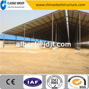 Cheap High Qualtity Steel Structure Cow Farm Price pictures & photos
