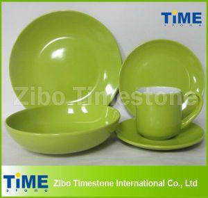 Wholesale 20PCS Ceramic Colored Stoneware Dinnerware pictures & photos