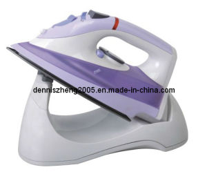 1150W-Cordless Steam Iron, Non-Stick Coating Soleplate