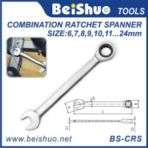 Open End and Box End Multi-Function Combination Ratchet Spanner pictures & photos