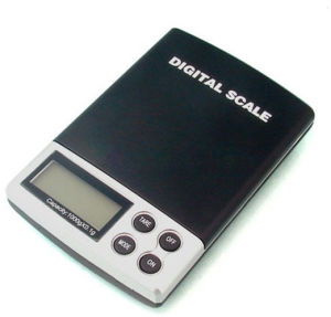 Blue Backlit Crystal Jewelry Scale (XF-DS01) pictures & photos