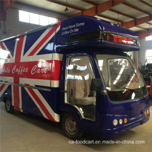 High Quality Solar Electric Food Truck for Sale pictures & photos