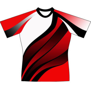 Youth Full Sublimation Rugby Uniform Tshirt for Teams pictures & photos