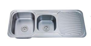 Drain Board Kitchen Sink, Stainless Steel Sink, Sink, Handmade Sink pictures & photos
