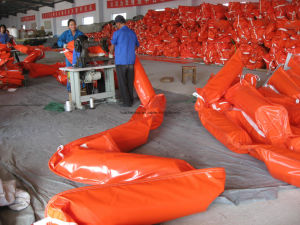 Industrial Use Thick PVC/Oil Boom (PWL600) pictures & photos