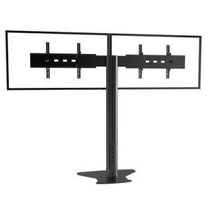"Public TV Floor Stand Floor Base 30-60"" Dual Screens (AVA 202D) pictures & photos"