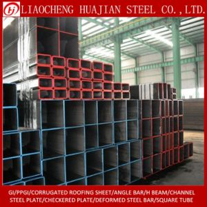 100X100mm Carbon Material Square Steel Pipe in Warehouse pictures & photos