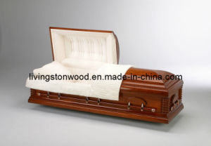 American Style Solid Cherry Casket (Walsburg)