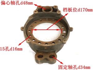 High Quality HOWO Truck Parts Brake Underplate pictures & photos