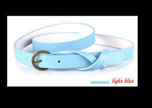 Nwt Women/Ladies Skinny Leather Belt B-10015