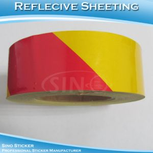 5cm*41m Safety Sticker Adhesive Sheeting Reflective Material