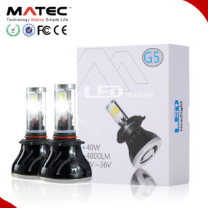 2017 New Auto High Power Car Motorcycle G5 LED Headlight Bulbs Kit H7 H1 H3 H11 H13 9007 9004 9005 9006 H4 Car Headlight LED H7 pictures & photos