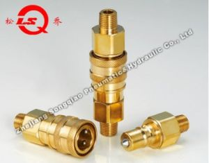 Lsq-S8 Medium-Pressure High Performance Pneumatic and Hydraulic Quick Coupling (BRASS) pictures & photos