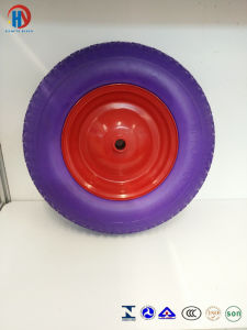 ISO9001 PU Foam Wheel pictures & photos