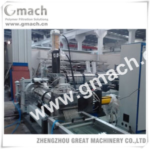 Hydraulic Screen Changer for Plastic Granules Making Machine pictures & photos