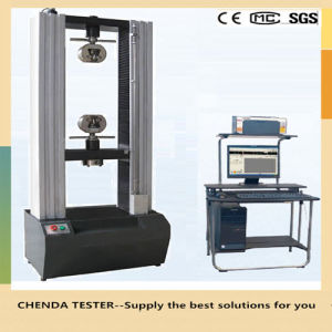10kn Electronic Tensile Strength Testing Machine for Plastic pictures & photos