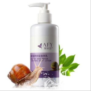 Afy Snail Skin Whitening Body Cream Moisturizing Whitening Body Lotion pictures & photos