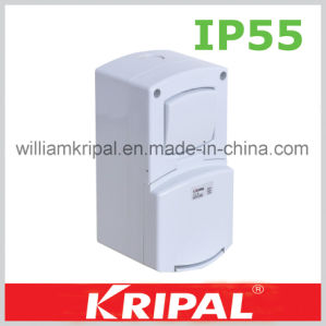 IP55 13A British Waterproof Switch Socket pictures & photos