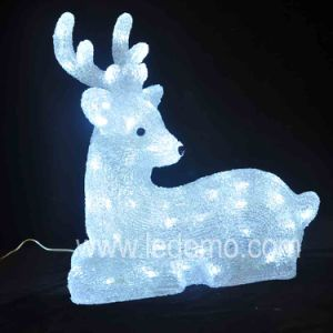 LED Decoration Acrylic Deer Christmas Light (LDM-Deer-39CM) pictures & photos
