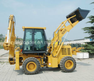 Yineng 2.5 Ton Backhoe Loader with Cummins Engine pictures & photos