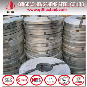 Q195 Hot Dipped Zinc Coated Steel Strips pictures & photos