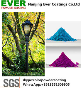 Thermosetting Electrostatic Spray Silver Antique Hammer Tone Powder Coating pictures & photos