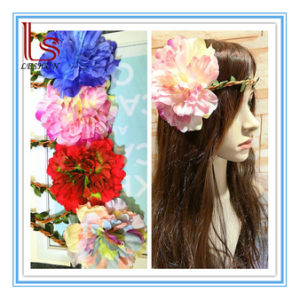 Seaside Bohemia Women Super Big Peony Flower Hair Accessories pictures & photos